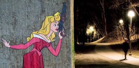 Killer princesses invade Stockholm streets