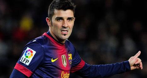 David Villa set for move to Atletico Madrid