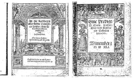 Theft of Luther texts leaves police baffled