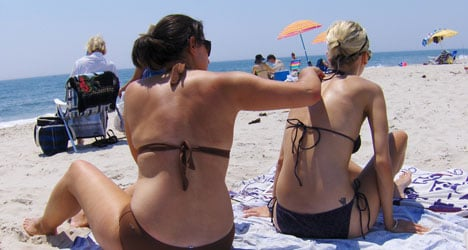 'Your sunscreen could be polluting the sea'