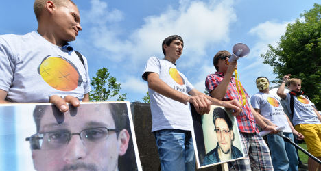 Morales lands in Spain after Snowden saga