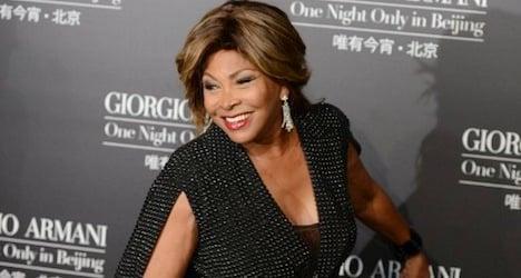 Tina Turner celebrates wedding in Zurich