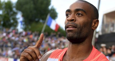 Gay cruises to 100-metre victory at Lausanne meet