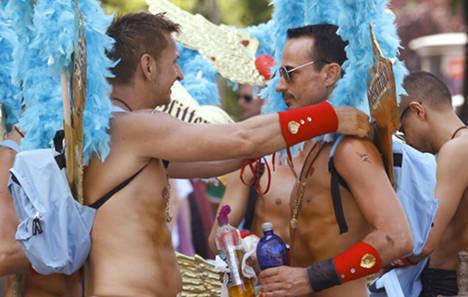 Gay pride parade draws more than a million