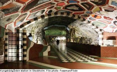 Top ten: Best Stockholm subway stations