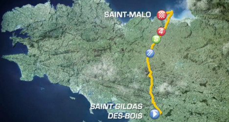 Tour de France stage 10: Kittel wins sprint finish