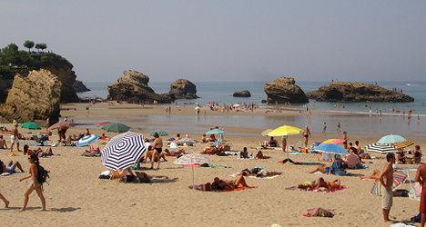 Brit 'filmed teens' on French nudist beach