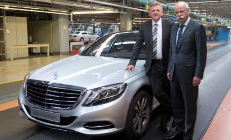 Daimler doubles profits thanks to EADS sale