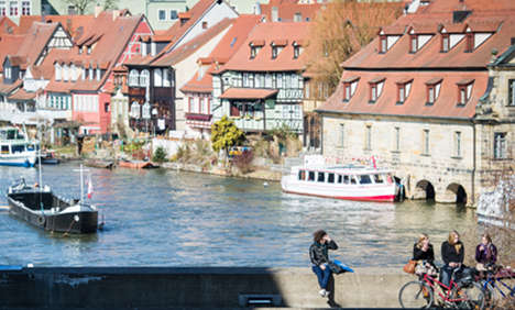 Behold the beauty of Bavarian Bamberg