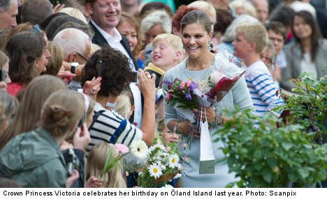 Crown Princess birthday pulls in the crowds
