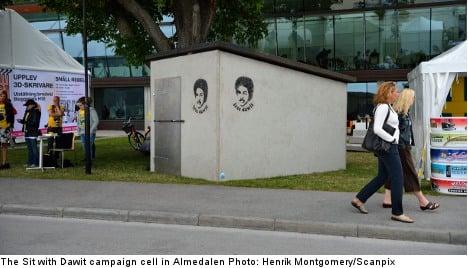 Almedalen Dispatch: Sit with Dawit lands PR prize