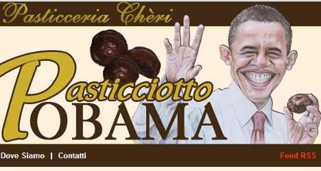 Obama cakes: recipe for Italian baker's success