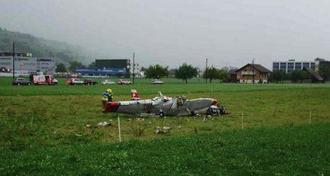 Three killed in flight school plane crash