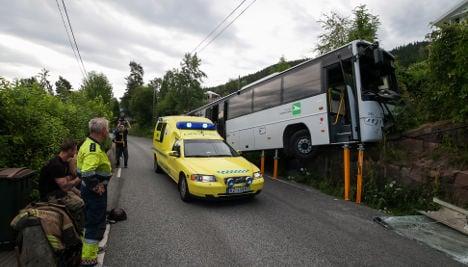 Six injured in mystery Drammen coach crash