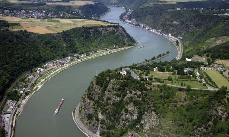 Rhine valley – home to 'river of destiny'