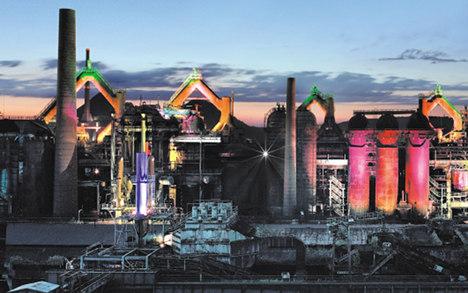 Völklingen Ironworks: an industrial behemoth
