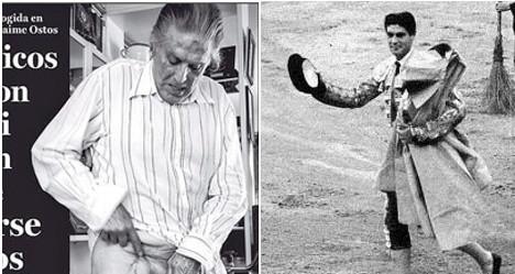 Nude pic of 83-year-old bullfighter shocks Spain