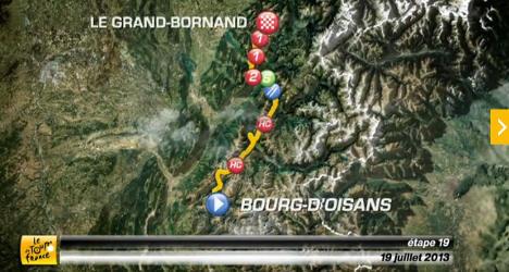 VIDEO: Tour de France stage 19 preview