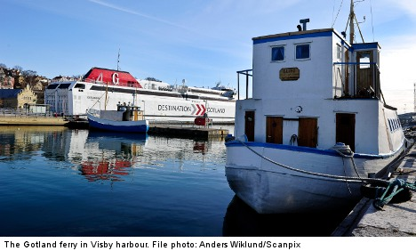 Gotland ferry services may be nationalized