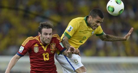 Brilliant Brazil stuns Spain with 3–0 win