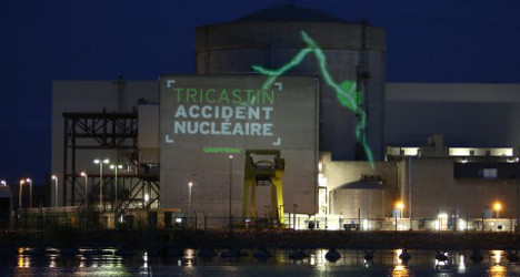Greenpeace activists held over plant protest