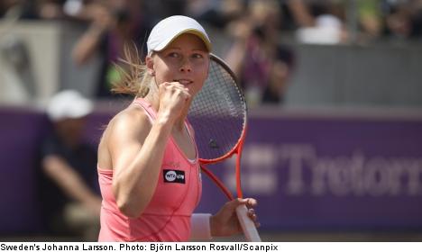 Larsson to meet Williams in Sweden Open final