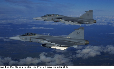 Swedish defence firm Saab reports profits fall