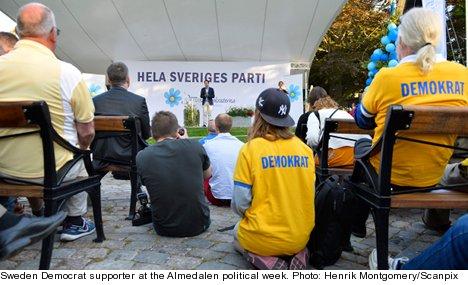 Sweden Democrat in Almedalen rape case