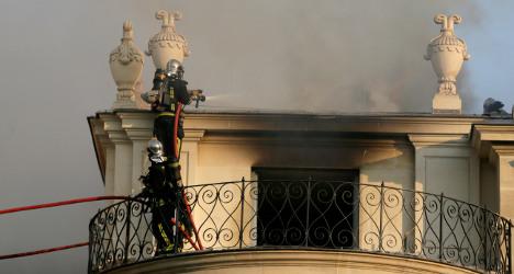 Qatari sheikh vows to restore fire-hit mansion