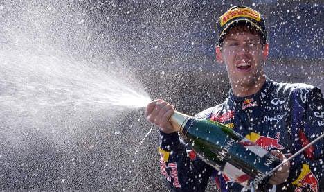 Vettel brings home German Grand Prix
