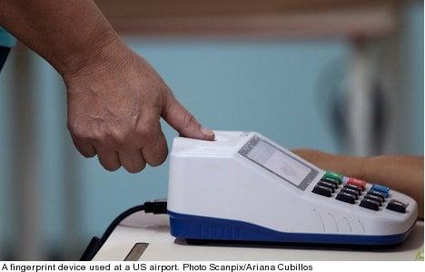 US authorities to access Swedish fingerprint info