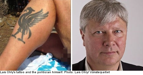 Swedish politician bares all in Instagram gaffe