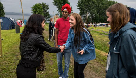 First post-terror summer camp for Labour youth