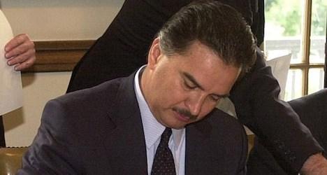 Ex-Guatamalan leader's Swiss assets frozen