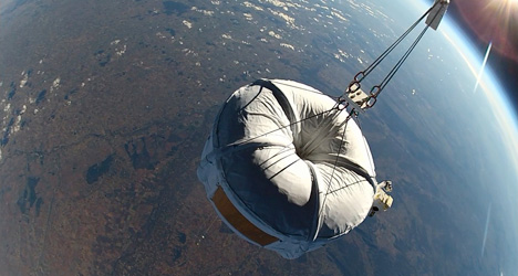 'Spain to Space' balloon ride nears lift off