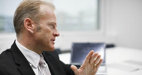 CEO's suicide jolts largest Swiss telecom
