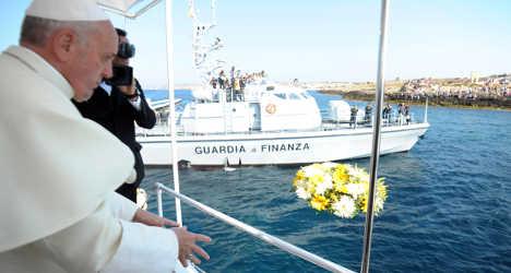 Italian politician 'happy' if migrant boat sinks
