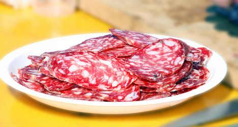 Tourists fall sick after eating 'toxic' salami