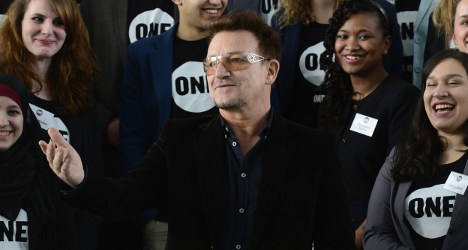 France to award Bono top cultural honour