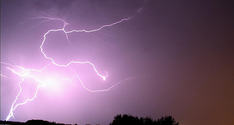 Storms update: Alert issued for eastern France