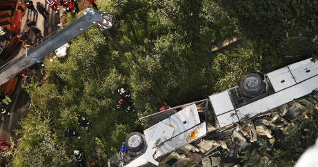 Avellino bus crash caused by broken brakes