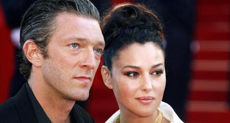 Celeb couple Bellucci and Cassel confirm split