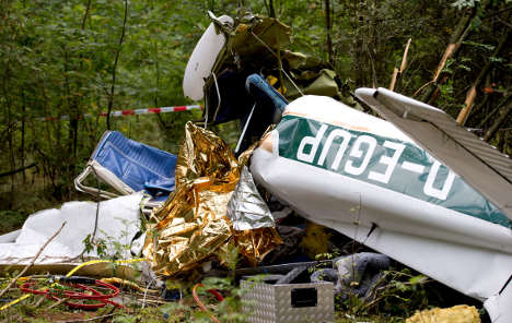 Two killed in light aircraft crash in north Germany