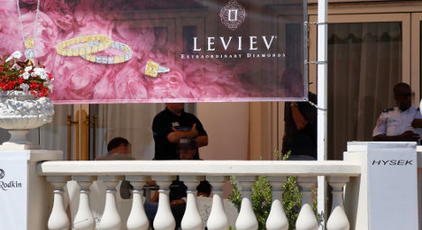 Million-euro reward for return of Cannes jewels