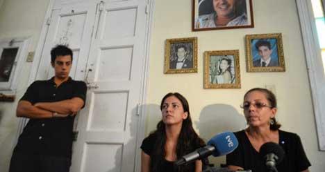 Activist's family sues Cuban secret service
