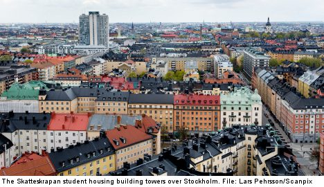 Stockholm students hit by sky-high rents