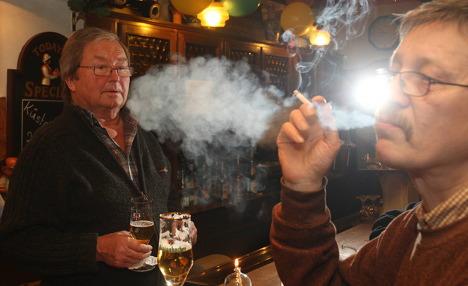 Smoking ban hits small pubs where it hurts