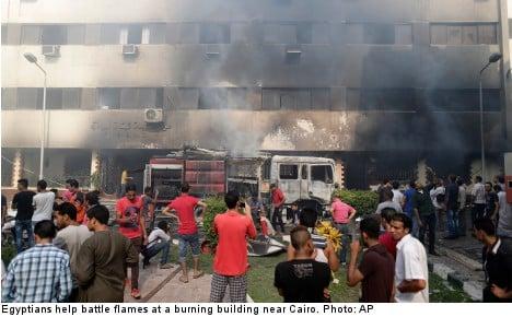 Electrolux shuts Egypt plants after violence