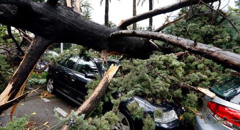 France placed on alert for violent storms