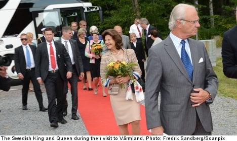 Swedish royals in 'Breivik group' bomb threat